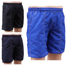 ACCLAIM Oslo Mens Sports Swimming Mesh Liner Shorts Contrast Stitching S-XXXXL