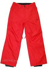 Rip Curl BASE PANT Mens Snow Board Snowboard Ski Waterproof Mountain Pant - Red