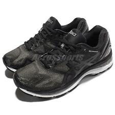 Asics Gel-Nimbus 19 Black Silver Men Running Shoes Sneakers Trainers T700N-9099