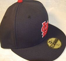 St Louis CARDINALS ALTERNATE 1 Navy New Era 59FIFTY Fitted Caps MLB OnField Hats