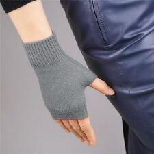 Winter New Long Style Wool Fingerless Gloves Arm Warmer Mitten 4Colors Best