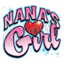 Nana Girl Kid Thirt Infant toddler youth baby shower gift birthday girl US XXXXX