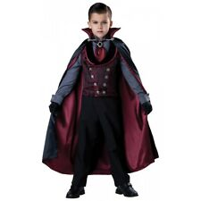 Dracula Costume Kids Vampire Halloween Fancy Dress