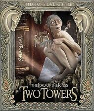 NEW Lord of the Rings Two Towers Collectors DVD Gift Set Gollum NOS 5-Disc
