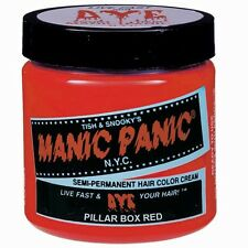 Manic Panic N.Y.C. Semi-Permanent Hair Color Cream Pillbox Red Goth Punk Emo