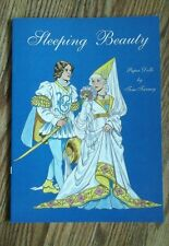Sleeping Beauty Paper Dolls Book by Tom Tierney uncut Two Dolls + Outfits