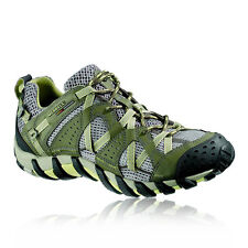 Merrell Waterpro Maipo Womens Green Outdoor Trail Trainers Pumps Sports Shoes