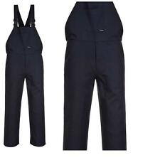 Portwest High Quality Cotton Bib And Brace Coveralls Overalls Dungaree Comfort