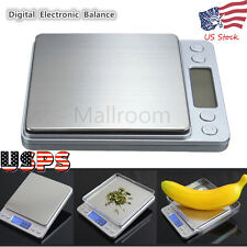 3000g X 0.1g Digital Pocket Scale Jewelry Weight Electronic Balance Gram USPS