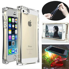 Clear Soft Silicone Gel Ice Cube Shockproof TPU Case Skin Cover For iPhone 4S 5S