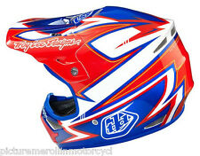 """TROY LEE DESIGNS TLD """"CHARGE"""" AIR MX SX OFF ROAD MOTOCROSS HELMET SIZE S M L XL"""