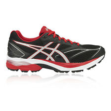 Asics Gel Pulse 8 Mens Black Cushioned Running Sports Shoes Trainers Pumps