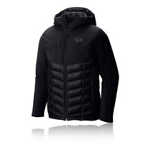 Mountain Hardwear Supercharger Insulated Mens Black Outdoor Hooded Jacket