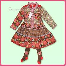 ROOM SEVEN  NWT Girls  Fall/Winter Dress with Tights      RETAIL $149.00