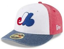 Official MLB Montreal Expos Bro Cap New Era 59FIFTY Low Profile Fitted Hat