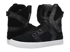 SUPRA S01054 SKYTOP II Mn's (M) Black/White Leather/Suede Skate Hi Top Shoes