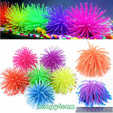 Aquarium Soft Plastic Coral Fish Tank Silicone Ornament Vivid Plant Decoration