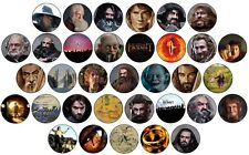 The Hobbit , Lord of the Rings & Middle Earth Button Pin Badges 25mm LOTR Bilbo