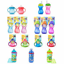 Nuby Cup Sippy Beaker Straw Non Spill Leak Proof Toddler Weaning Drinking