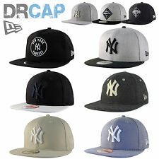 NEW ERA NY YANKEES & DODGERS MLB 9FIFTY SNAPBACK BASEBALL CAPS INC ORIGINAL FIT