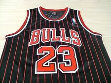 NEW Michael Jordan Chicago Bulls #23 Jersey Shirt  Basketball Men Black Stripes