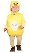 Plushy Chick Childrens Fancy Dress NEW - Girl Carnival Costume Costume