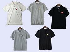 Men's Japan style Tee Play Comme Des Garcons CDG Cute Heart Polo cotton T-Shirt