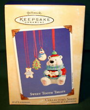 HALLMARK ORNAMENT  2002  SWEET TOOTH TREATS  FIRST IN SERIES