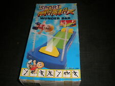 RARE TOMY GAMES SPORT MANIAX WUNDER BAR - BOXED COMPLETE