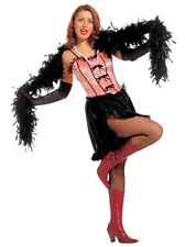 Saloon Girl Flabia Burlesque Costume NEW - Ladies Carnival costume Ko