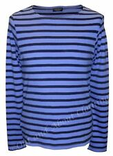Captain Corsaire 'Tangon' Breton Shirt - Stripe Top Long Sleeved - Blue / Navy