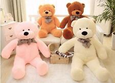 "39""GIANT HUGE BIG STUFFED ANIMAL TEDDY BEAR PLUSH SOFT STUFFED BEAR TOY 100CM"
