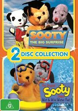 Sooty: Big Surprise/Wet And Wild Water Fun, 2014  Lizzy Wizzy Sooty DVD NEW