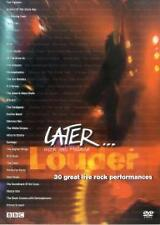 Later Louder Jools Holland (DVD, 2003) 30 Rock tracks & Foo Fighters Interview