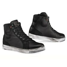 TCX Street Ace Boots Waterproof Black Short Motorbike Motorcycle Boots Scooter