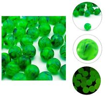 Glow In The Dark Rubber Green Bouncing Balls Children's Toys Prizes Party Favors