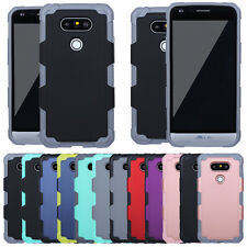 New Shockproof Hybrid Rugged Rubber Protective Matte Hard Case Cover For LG G5