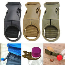 Tactical Molle Hanging Strap Webbing Buckle Clip Key Water Bottle Hook Belt Tool