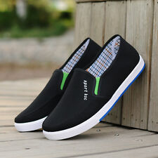 Men's Classic Canvas Vulcanized Shoes Skate Casual Athletic Lace-up Low Top