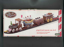 LEMAX SUGAR 'N SPICE RARE GINGERBREAD EXPRESS TRAIN & TRACK 2004 MIB
