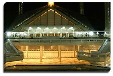Canvas Print Wall Art Faisal Mosque in Lahore - Pakistan (night)