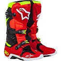 ALPINESTARS TECH 10 MOTOCROSS ATV DIRTBIKE MX BOOTS TORCH RED MENS SIZE