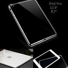 """Ultra-Slim Transparent Clear Protective Back Case Cover For iPad Pro 9.7""""/12.9"""""""