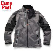 Scruffs Pro Softshell Technical Work Jacket - Charcoal - Choose Your Size