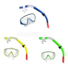 Swimming Snorkeling Scuba Diving Mask Goggles Snorkel Set with Breathing Tube