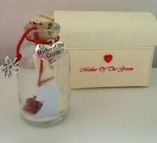 PERSONALISED MOTHER OF THE BRIDE / GROOM THANK YOU MESSAGE IN A BOTTLE GIFT POEM