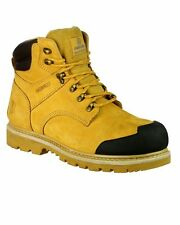 FS226 Goodyear Welted Waterproof Lace up Industrial Safety Boot Goodyear Welted