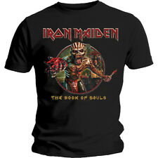 IRON MAIDEN - Book Of Souls Circle Eddie Tee T-Shirt *OFFICIAL BAND MERCHANDISE*