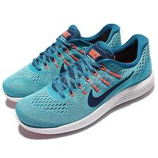 Nike Lunarglide 8 VIII Blue Orange Men Running Shoes Sneakers Trainer 843725-406