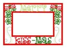 CHRISTMAS FRAMES & CARDS COLLECTION - MACHINE EMBROIDERY DESIGNS ON CD